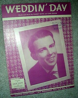 1940s - Vintage Sheet Music 1949