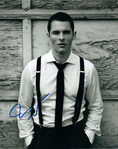 James Marsden Signed Autographed 8x10 Photo X-MEN Anchorman Enchanted COA VD