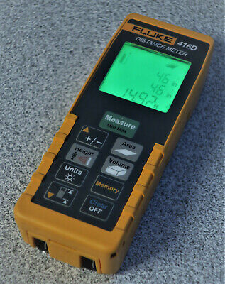 Fluke 416d 60m200ft Laser Distance Meter Accuracy To 116