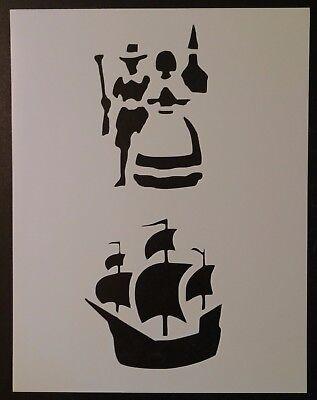 Pilgrim Pilgrims Mayflower Boat 8.5