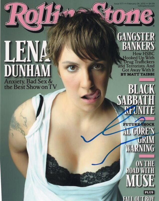 Lena Dunham Girls Hannah Horvath Signed 8x10 Photo w/COA