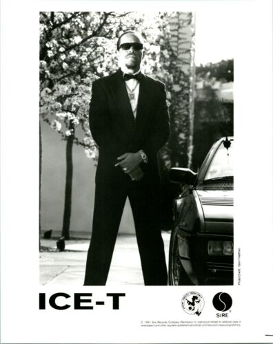 """RARE 1991  ICE-T PROMO PHOTO  SIRE RECORDS  """"O. G. ORIGINAL GANGSTER"""""""