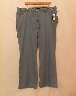 Women's Not Your Daughters Jeans Wide Leg Pants size 20W NWT