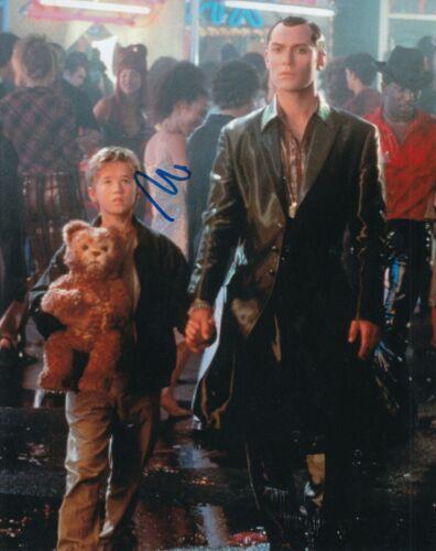 HALEY JOEL OSMENT signed (A.I. ARTIFICIAL INTELLIGENCE) Movie 8X10 photo W/COA