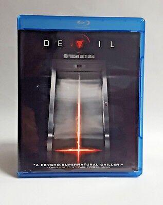 Devil Blu ray Disc 2010 Horror Thriller Halloween Scary Drama Mystery Film