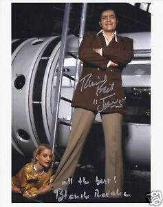 RICHARD-KIEL-BLANCHE-RAVALEC-SIGNED-MOONRAKER-JAMES-BOND-8x10-PHOTO-UACC-RD