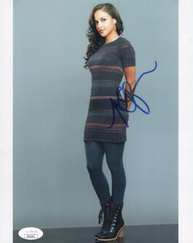Megalyn Echikunwoke Signed ARROW Almost Family 8x10 Photo Autograph JSA COA Cert