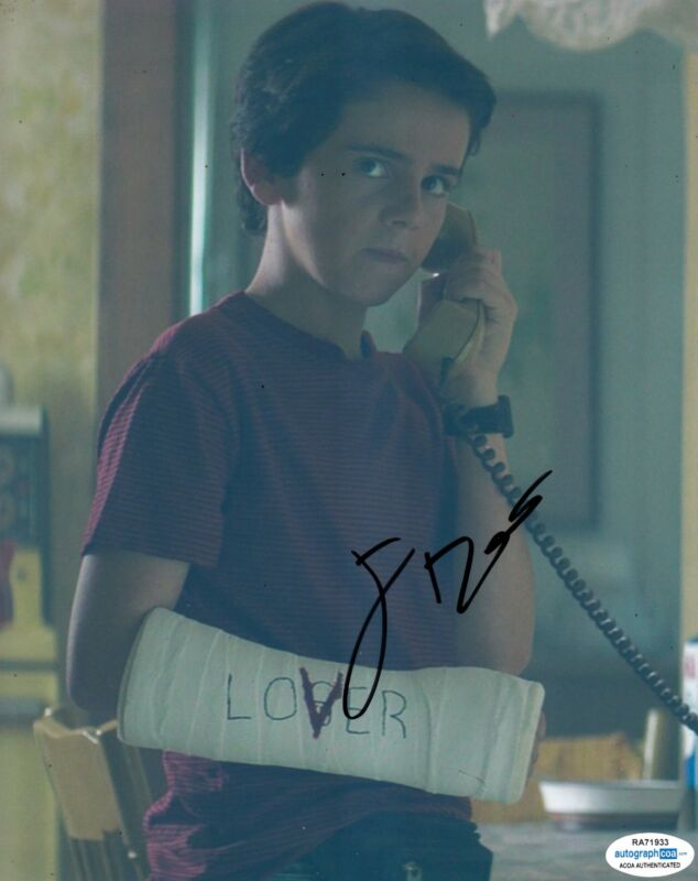 Jack Dylan Grazer Autographed Signed 8x10 Photo IT ACOA