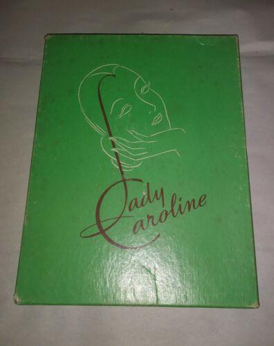 VTG LADY CAROLINE NYLON STOCKINGS SIZE 10 1/2, 4 PAIR