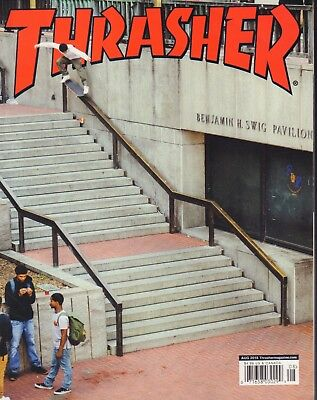 aac02c8f6b Thrasher Magazine Skateboarding August 2018 Kevin Braun 090718AME