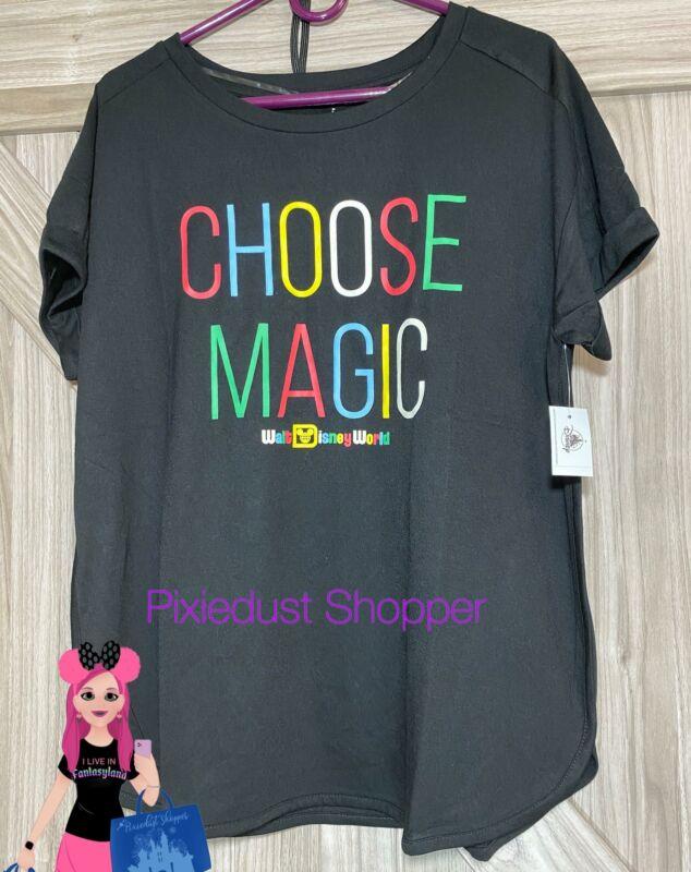 Disney World Choose Magic Ladies Shirt