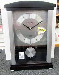 SEIKO MANTEL CLOCK ROTHESAY CONTEMPORARY W/ 12 MELODIES OR CHIMES QXW440BLH