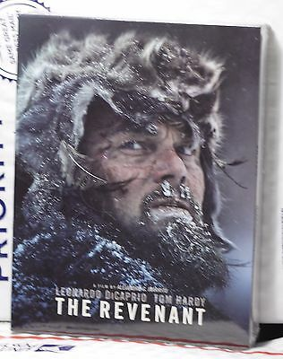New The Revenant Blu Ray Full Slip Steelbook   Lenti Fac 42 Edition 1  Sealed