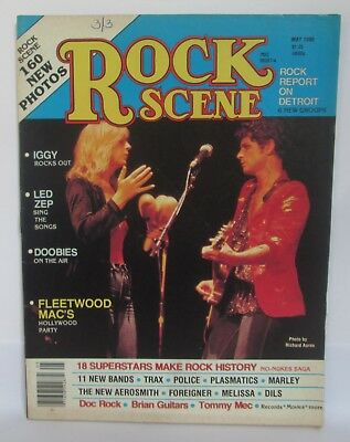 ROCK SCENE MAGAZINE, May 1980, Fleetwood Mac Cover for sale  Lake Ariel
