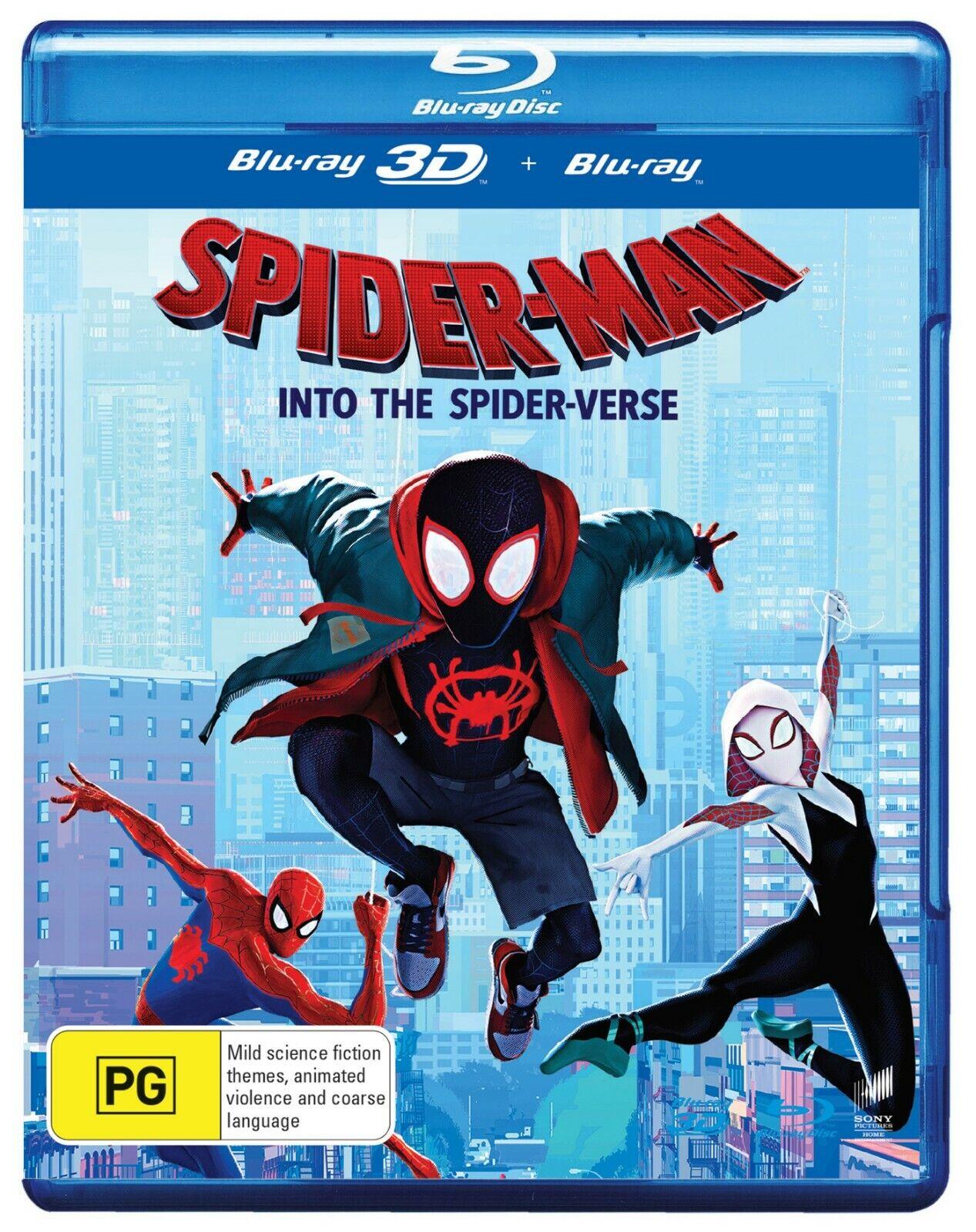 SPIDER-MAN INTO THE SPIDER-VERSE  Region Free  Spiderman
