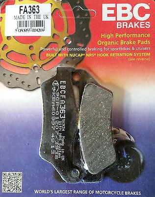 EBC/FA363 Brake Pads (Rear) - BMW R1200GS / Adventure, R1150GS, R1200RT, R1200S