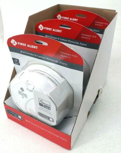 First Alert Z-Wave Plus Smoke & Carbon Monoxide Detector Battery Powered 3 Pack