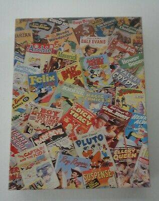 Vtg 1988 Sealed Bag 550 Pieces Comics Jigsaw Puzzle #972 Great American Factory