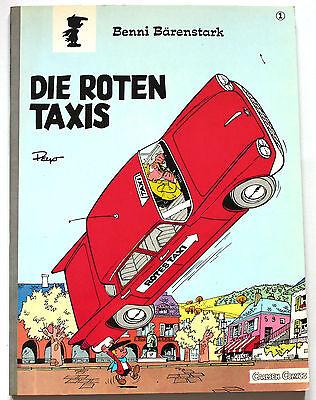 BENNI BÄRENSTARK | Nr.  1 | Die roten Taxis | Carlsen | Z1 | CA903