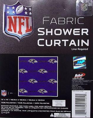 Baltimore Ravens Shower Curtain Baltimore Ravens Shower Curtain