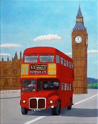 London original acrylic painting on canvas