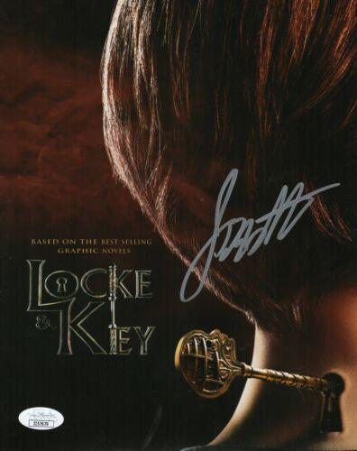 Jackson Robert Scott Autograph Signed 8x10 Photo - Locke & Key (JSA COA)