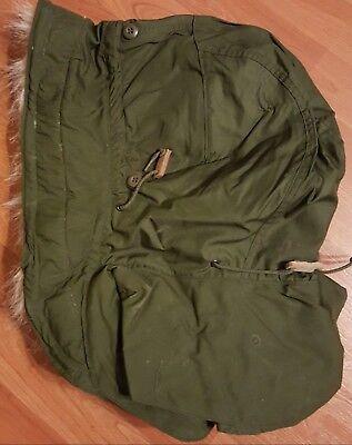 Military PARKA HOODM-65 M-51 OG-107 EXTREME COLD WEATHER FISHTAIL UNISSUED USGI for sale  Grant