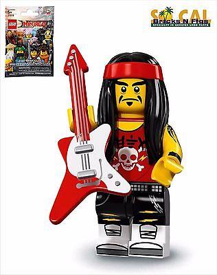 LEGO The Ninjago Movie Minifigures Series 71019 Gong and Guitar Rocker - NEW