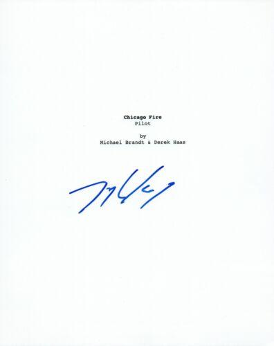 Taylor Kinney Signed Autographed CHICAGO FIRE Pilot Episode Script COA VD