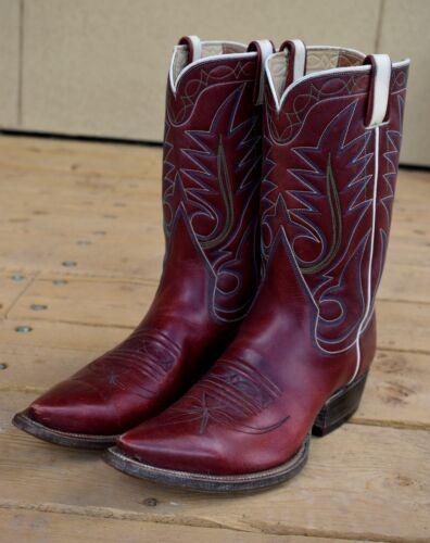 VINTAGE RAY JONES HANDMADE COWBOY BOOTS