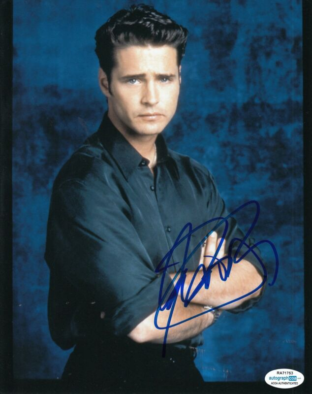 JASON PRIESTLEY signed (BEVERLY HILLS 90210) 8X10 photo Brandon BH90210 ACOA #2