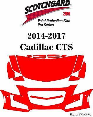 3M Scotchgard Paint Protection Film Pro Series 2014 2015 2016 2017 Cadillac CTS