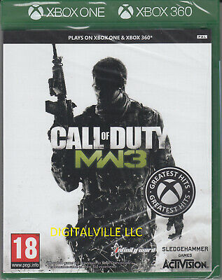 Call of Duty Modern Warfare 3 Xbox One & Xbox 360 Brand New Sealed COD