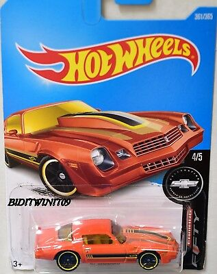 HOT WHEELS 2017 CAMARO FIFTY '81 CAMARO ORANGE