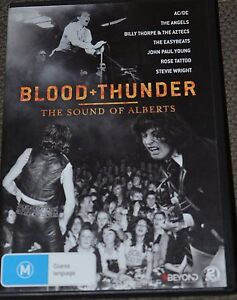 Blood and Thunder - The Sound of Alberts DVD Cecil Hills Liverpool Area Preview