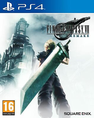 Final Fantasy (7) VII Remake (PS4) Brand New & Sealed Free UK P&P