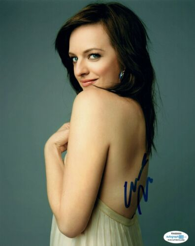 Elisabeth Moss Signed Autographed 8x10 Photo The Handmaid's Tale Actress ACOA