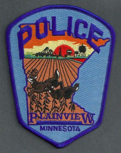 PLAINVIEW MINNESOTA POLICE SHOULDER PATCH