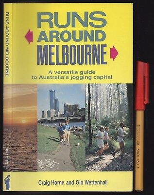 Jogging Keep Fit Running 40 RUNS AROUND MELBOURNE Maps & Guide 112 pages As (Fit Melbourne Map)