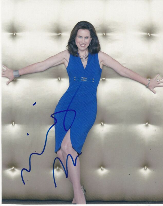 MIRIAM SHOR SIGNED 8X10 PHOTO AUTHENTIC AUTOGRAPH YOUNGER COA B