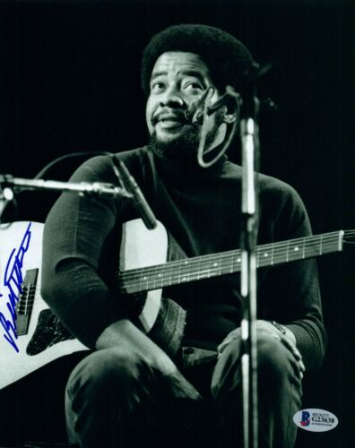 Bill Withers Signed Autographed 8x10 Photo Beckett BAS COA