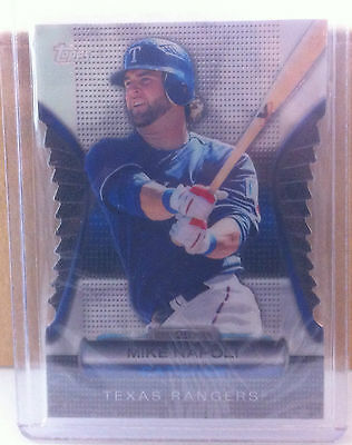 2012 Topps Golden Moments  Gmdc98 Mike Napoli Texas Rangers Die Cut