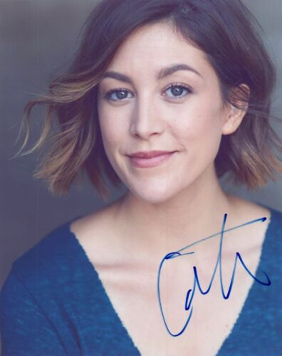 Caitlin McGee Signed Autographed 8x10 Photo BLUFF CITY LAW Actress COA
