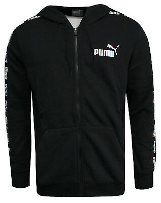 Puma Power Rebel Mens Track Jacket Sweat Mens Zip Up Track Tops 594007 01 P2B