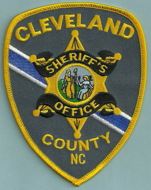 CLEVELAND COUNTY SHERIFF NORTH CAROLINA SHOULDER PATCH