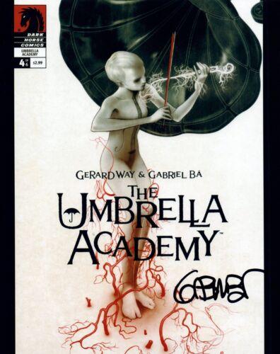 Gabriel Ba Signed Autographed 8x10 Photo THE UMBRELLA ACADEMY Artist COA