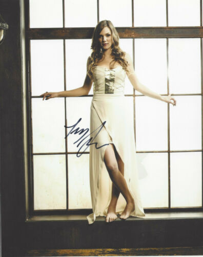 TRACY SPIRIDAKOS SIGNED AUTHENTIC CHICAGO P.D. 8X10 PHOTO B w/COA ACTRESS