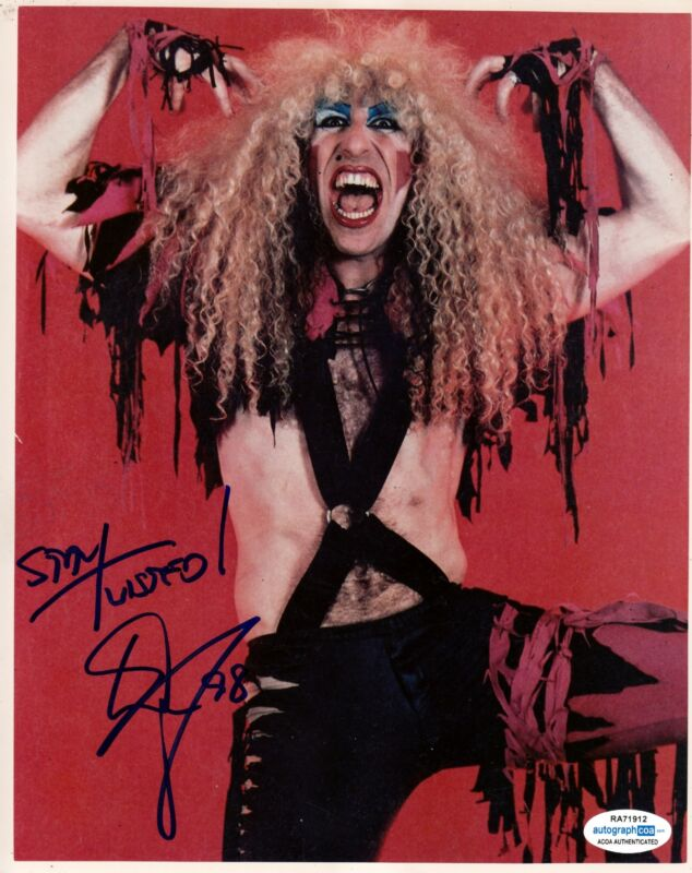 Dee Snider Autographed Signed 8x10 Photo Twisted Sister ACOA