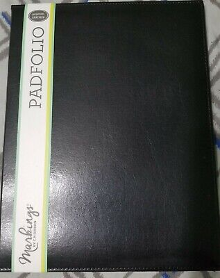 Black Leather Padfolio