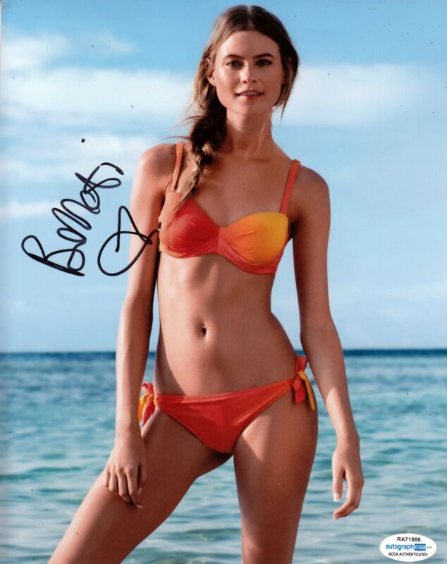 Behati Prinsloo Autographed Signed 8x10 Photo Sexy Sports Illustrated ACOA